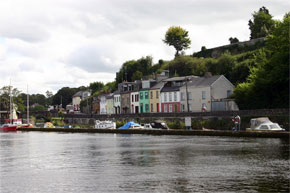 Killaloe from the river Shannon.