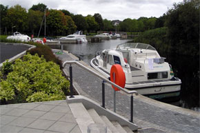 The new harbour at Scarriff