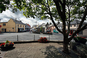The square in Scarriff