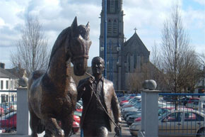 Horse Fair Monument at Ballinasloe