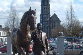 Horse Fair Monument at Ballinasloe