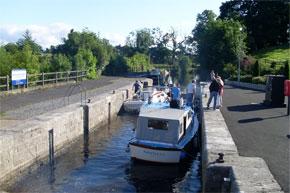 The lock at Ballinasloe
