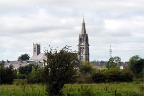 The church at Ballinasloe