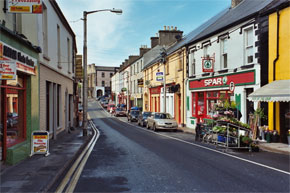 The main street in Boyle