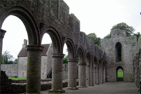 The ruins of Boyle Abbey.