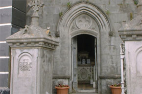 The Costelloe Memorial Chapel in Carrick-on-Shannon, reputedly the second smallest chapel in the world.