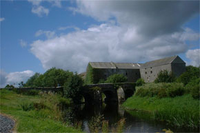 The old distillery and corn mill at Clondra