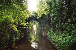 The Grand Canal at Clondra on the Shannon River