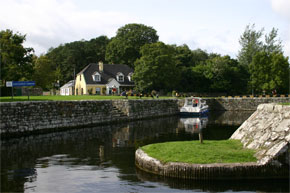 Garrykennedy harbour on Lough Derg, boat Hire Travel Guide Ireland