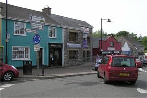 Kesh Village on Lough Erne